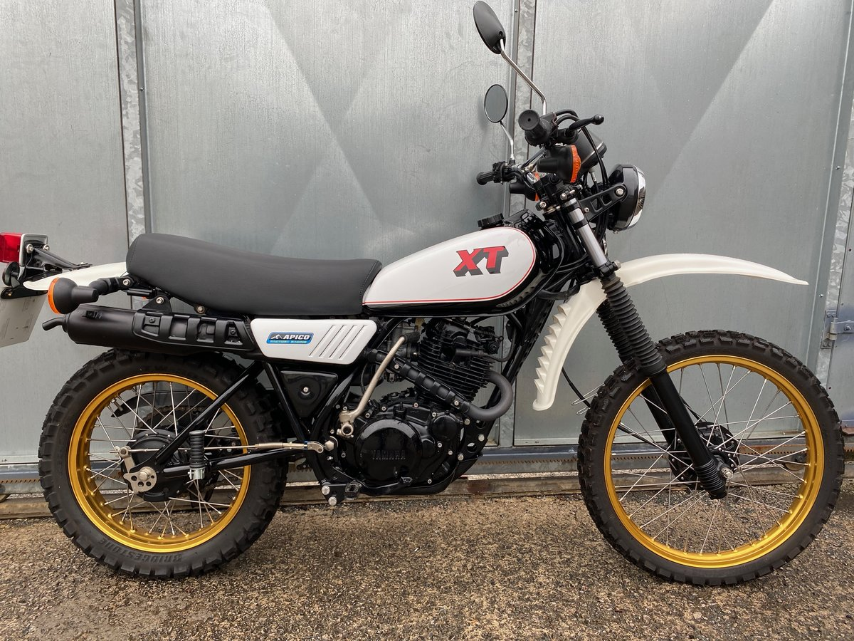 1981 YAMAHA XT 250 TRAIL ENDURO ACE BIKE £5195 OFFERS PX 500 350 For Sale (picture 2 of 5)
