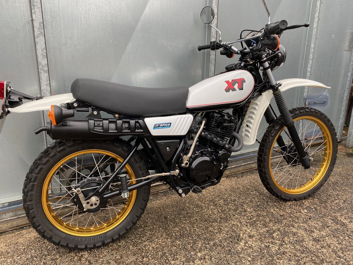 1981 YAMAHA XT 250 TRAIL ENDURO ACE BIKE £5195 OFFERS PX 500 350 For Sale (picture 3 of 5)
