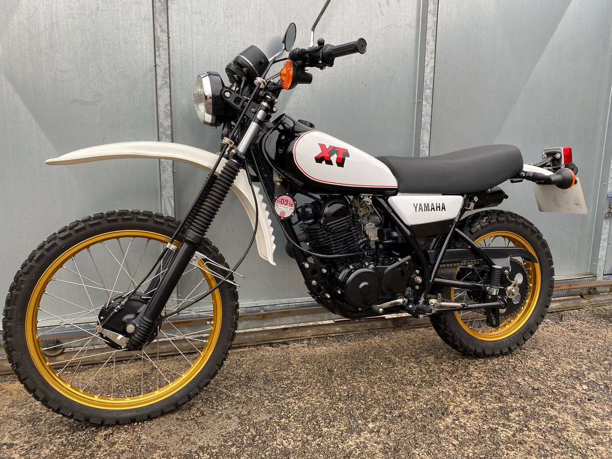 1981 YAMAHA XT 250 TRAIL ENDURO ACE BIKE £5195 OFFERS PX 500 350 For Sale (picture 5 of 5)