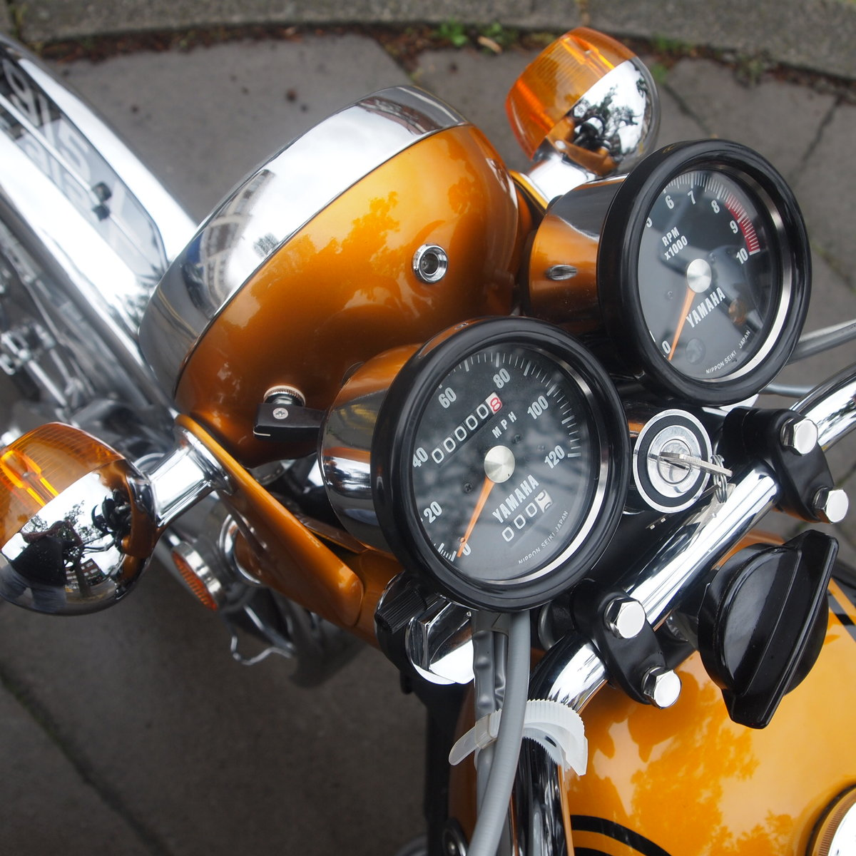 1973 Yamaha YDS7 250 In Concours d'Elegence Condition, BEST. SOLD (picture 5 of 6)