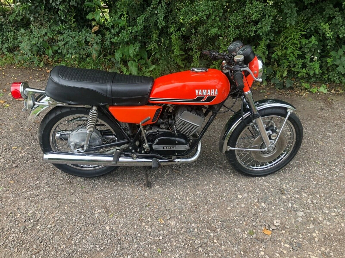 1975 Yamaha RD 350 unregistered import (project) For Sale (picture 1 of 6)