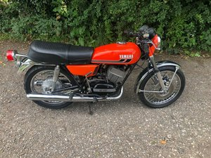 1975 Yamaha RD 350 unregistered import (project)