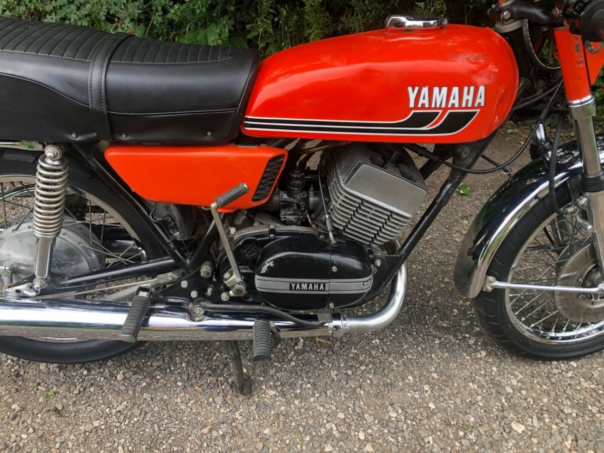 1975 Yamaha RD 350 unregistered import (project) For Sale (picture 2 of 6)