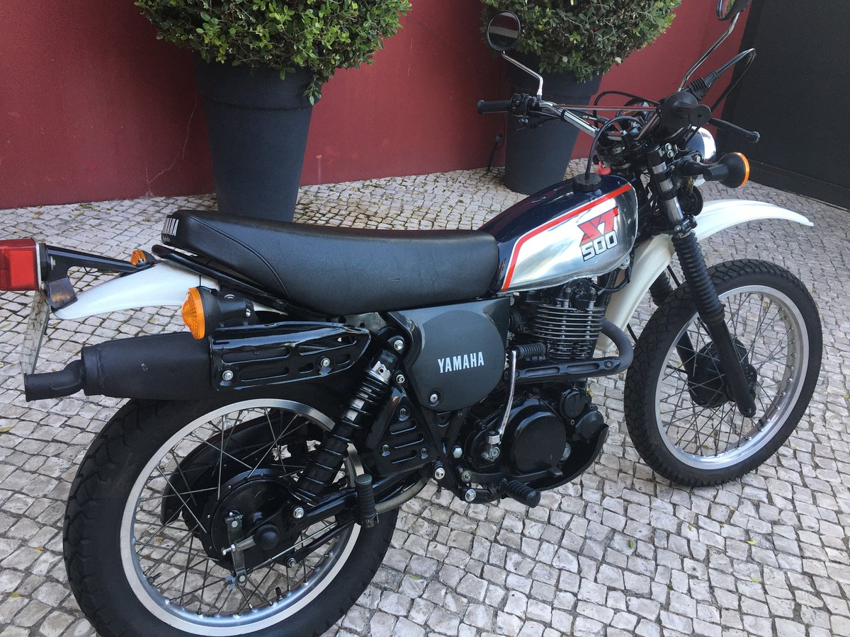 1988 XT 500 exceptional original condition For Sale (picture 1 of 6)