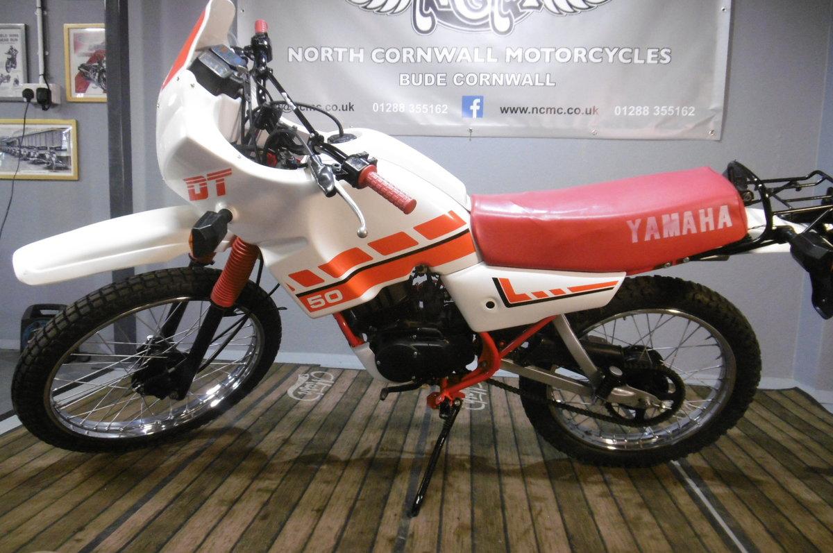 1994 Yamaha DT50MX DAKAR full restoration  For Sale (picture 1 of 6)