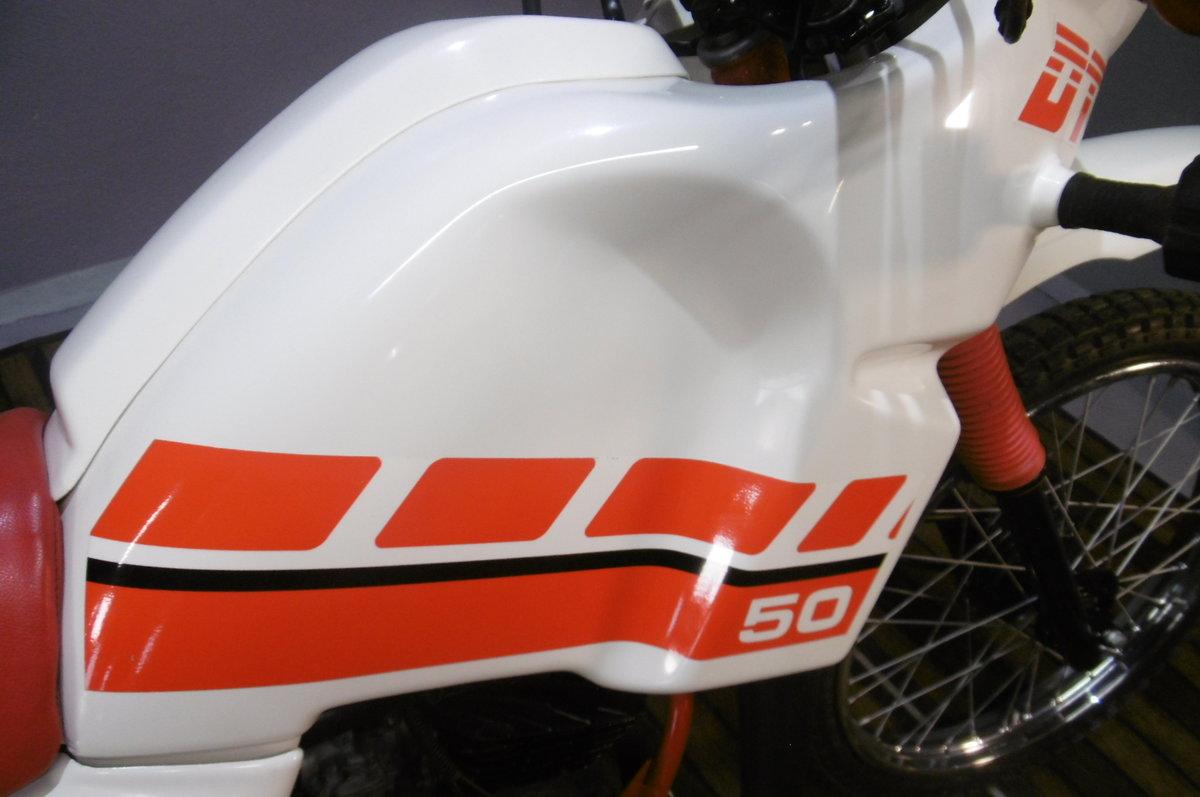 1994 Yamaha DT50MX DAKAR full restoration  For Sale (picture 3 of 6)