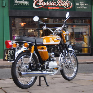 1973 Yamaha SS50 Genuine Rare UK Pedal Moped, Like New.