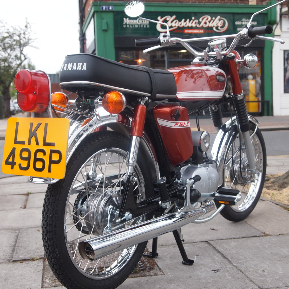 1975 Yamaha FS1E Genuine Rare UK Pedal Moped, Like New. For Sale (picture 1 of 6)