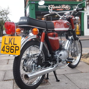 Picture of 1975 Yamaha FS1E Genuine Rare UK Pedal Moped, SOLD. SOLD