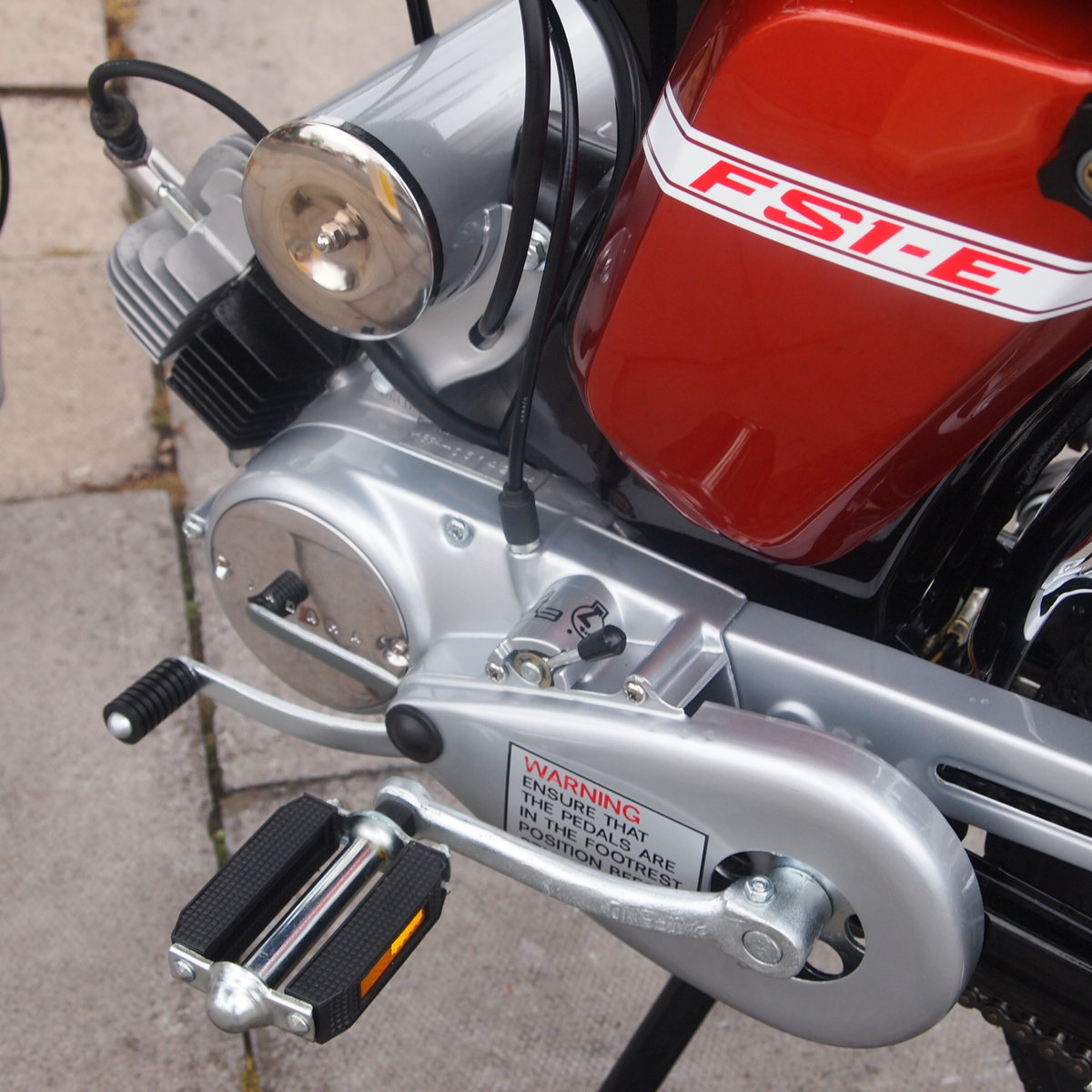 1975 Yamaha FS1E Genuine Rare UK Pedal Moped, Like New. For Sale (picture 2 of 6)