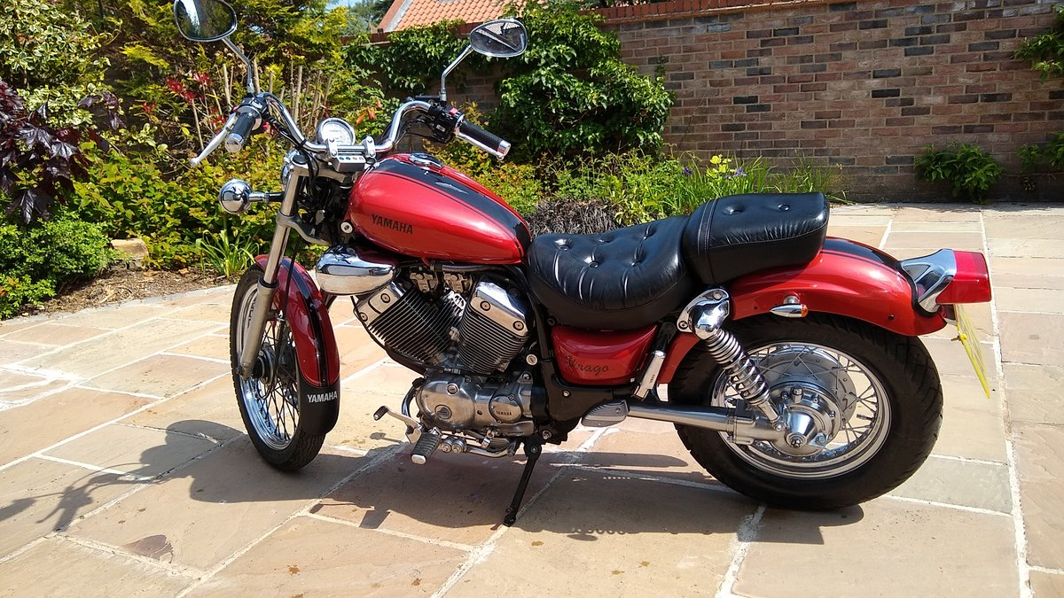 1991 Yamaha 535 Virago Custom Cruiser, Shaft drive. For Sale (picture 1 of 6)