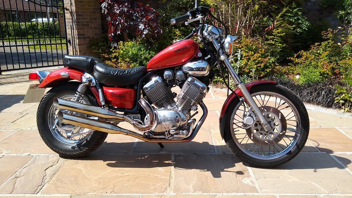 1991 Yamaha 535 Virago Custom Cruiser, Shaft drive. For Sale (picture 4 of 6)