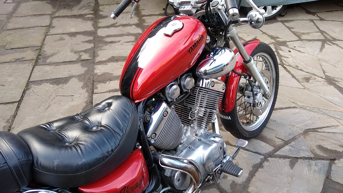 1991 Yamaha 535 Virago Custom Cruiser, Shaft drive. For Sale (picture 6 of 6)