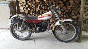 1976 Yamaha TY 125 cc running well