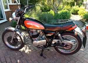 Yamaha SR500 Original throughout. Restored.