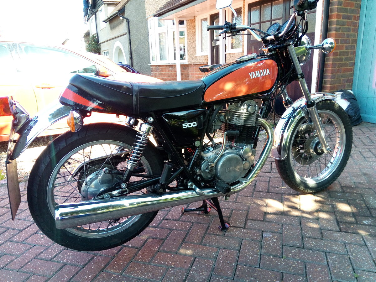 1978 Yamaha SR500 Original throughout. Restored. SOLD (picture 2 of 4)