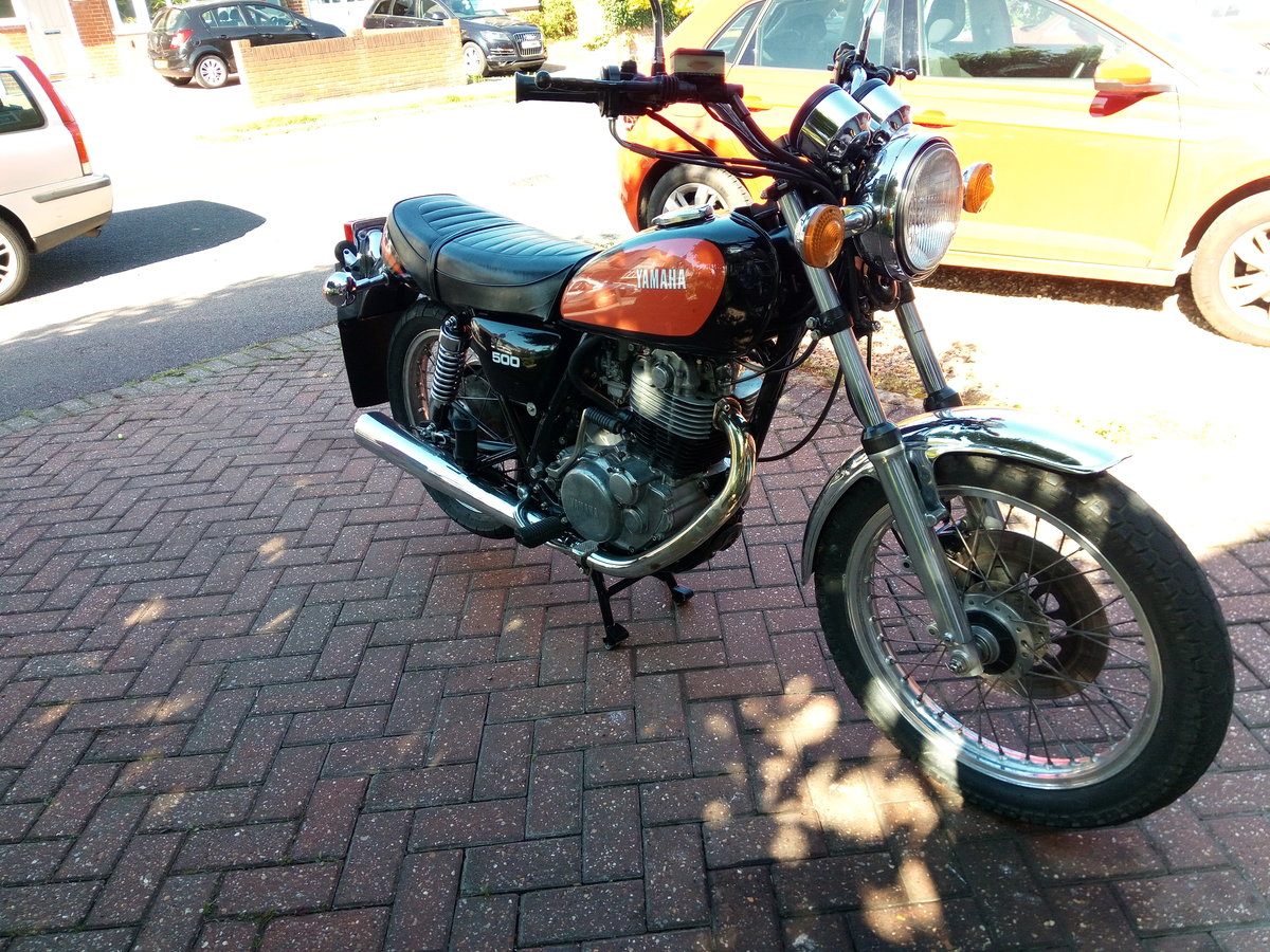 1978 Yamaha SR500 Original throughout. Restored. SOLD (picture 4 of 4)