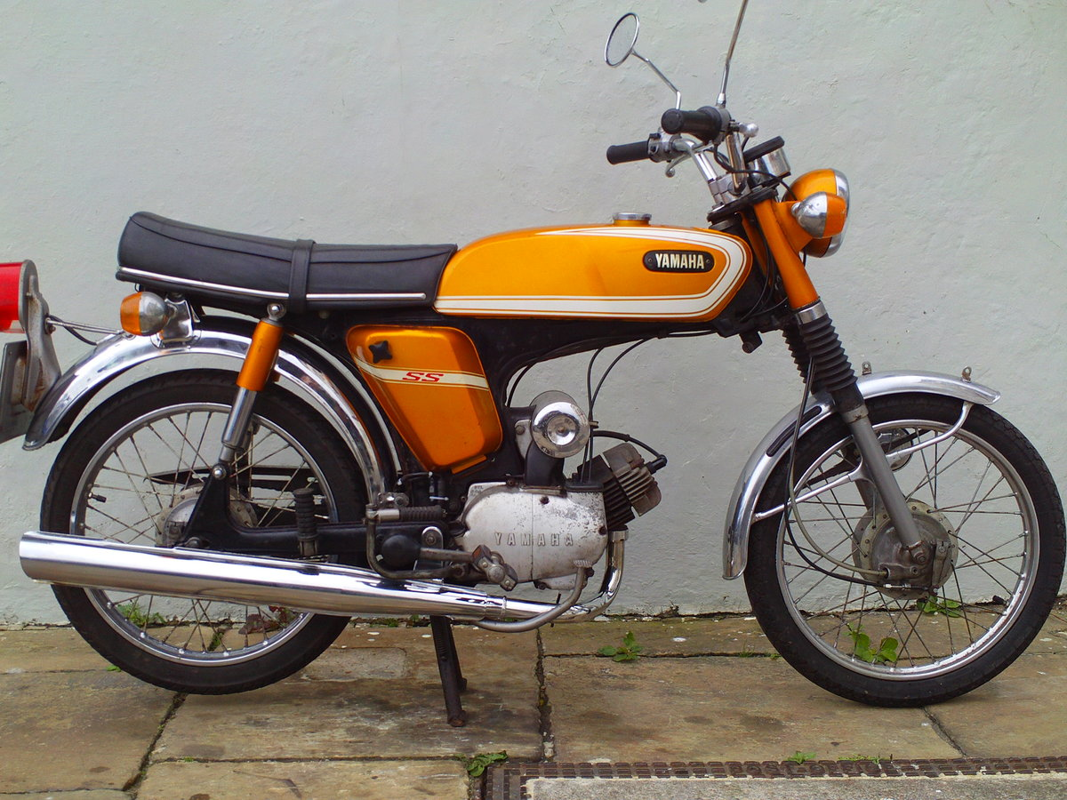 1973 YAMAHA FSIE SS50 'SIXTEENER SPECIAL' SOLD (picture 1 of 6)