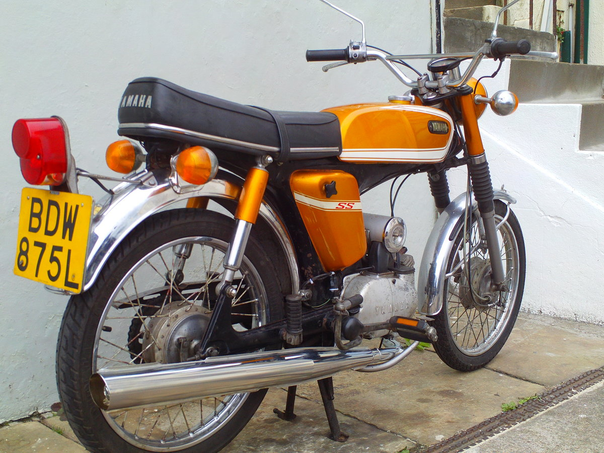 1973 YAMAHA FSIE SS50 'SIXTEENER SPECIAL' SOLD (picture 2 of 6)
