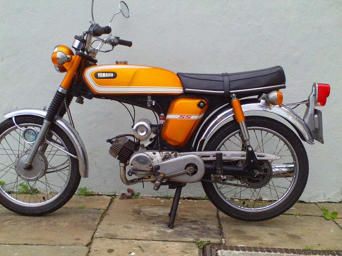 1973 YAMAHA FSIE SS50 'SIXTEENER SPECIAL' SOLD (picture 3 of 6)