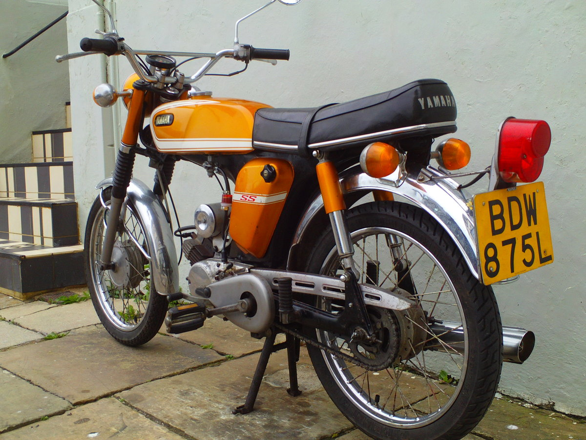 1973 YAMAHA FSIE SS50 'SIXTEENER SPECIAL' SOLD (picture 4 of 6)