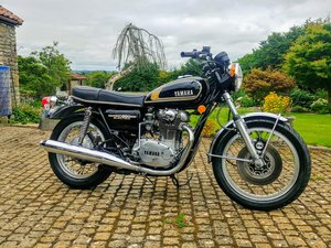 YAMAHA XS650B Exceptional condition Tax/MOT Exempt