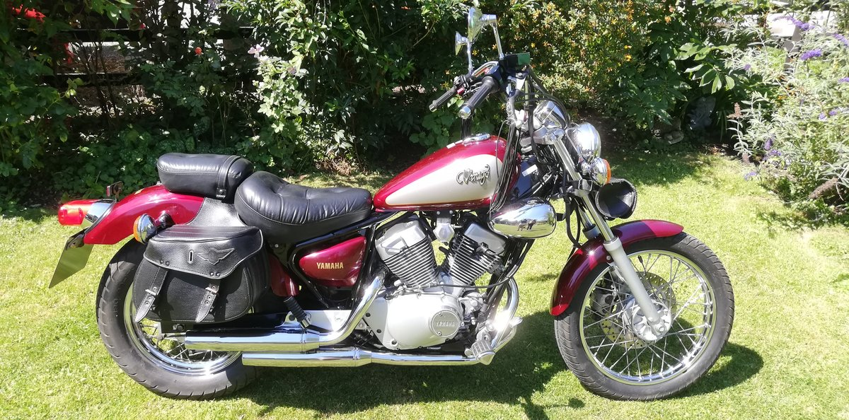 1995 YAMAHA VIRAGO XV250 SOLD (picture 1 of 6)