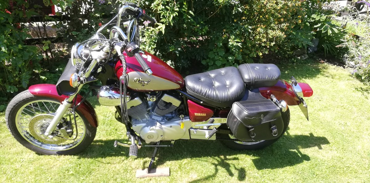 1995 YAMAHA VIRAGO XV250 SOLD (picture 4 of 6)