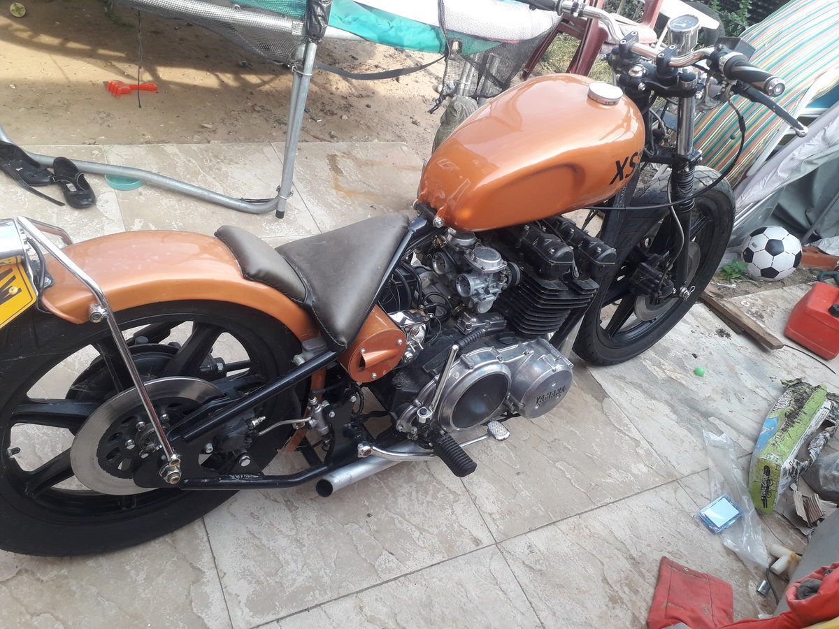 1977 Yamaha xs750 bobber For Sale (picture 3 of 4)