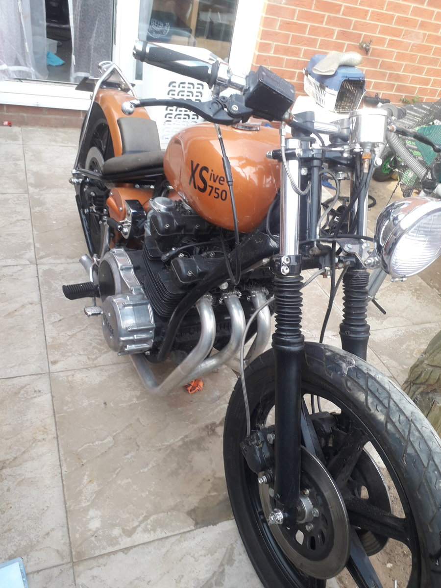 1977 Yamaha xs750 bobber For Sale (picture 4 of 4)