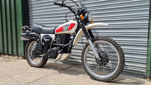 1977  Yamaha XT500 D UK Original bike.