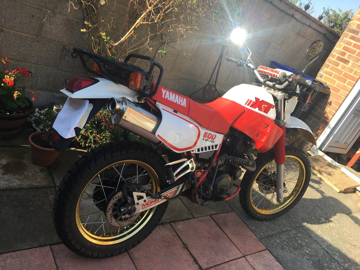 1986 YAMAHA ( NOW SOLD TO A GOOD HOME ) SOLD (picture 1 of 5)