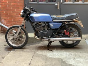 1976 Yamaha RD400 1A3