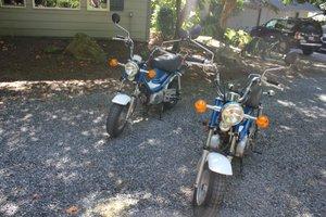 1980  Yamaha Chappy Scooters