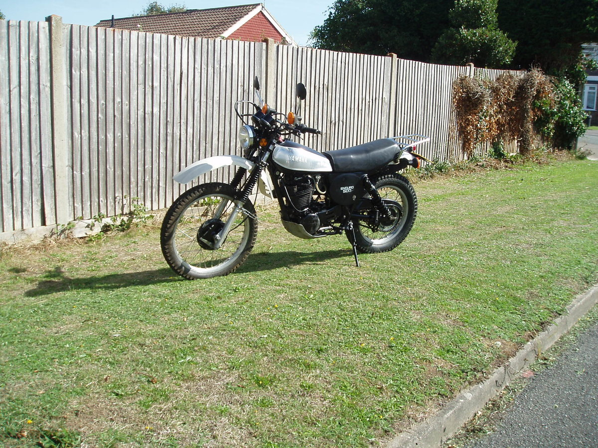1978 Yamaha XT500 15,000 miles 1979\V SOLD (picture 2 of 6)