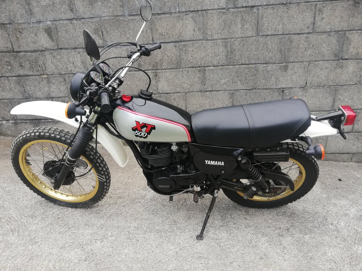 1982 Yamaha XT500 SOLD (picture 1 of 6)