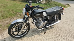 1978 Yamaha XS250 Very low miles UK bike