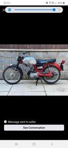 Yamaha Yg1 80cc classic 2 stroke