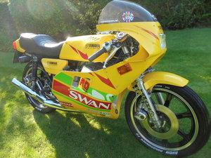 yamaha rd250 swan racing replica low milage