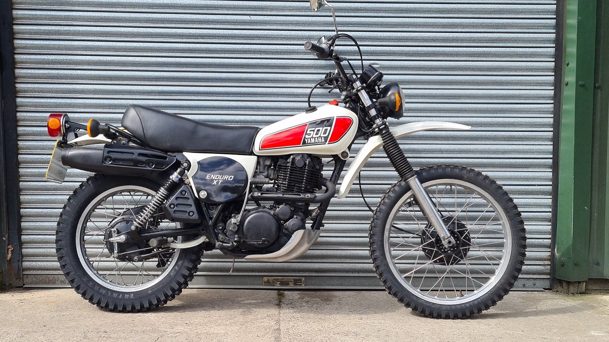 1977 Yamaha XT500 D UK Original bike.  For Sale (picture 1 of 10)