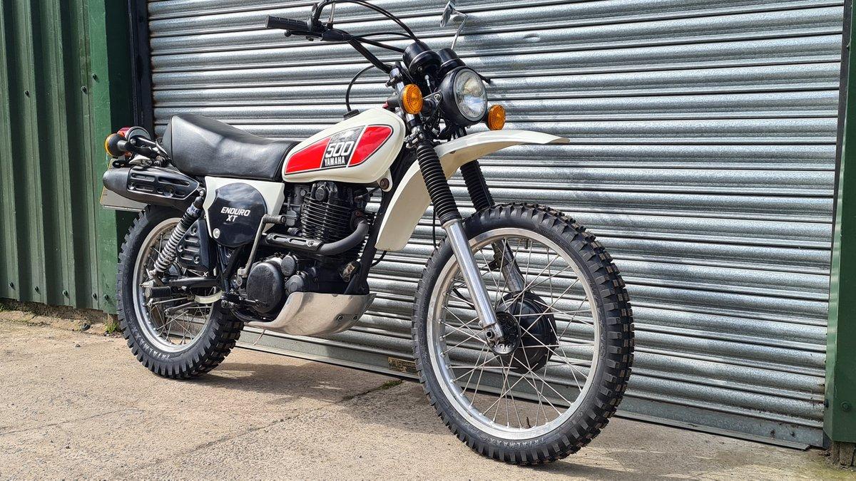 1977 Yamaha XT500 D UK Original bike.  For Sale (picture 2 of 10)