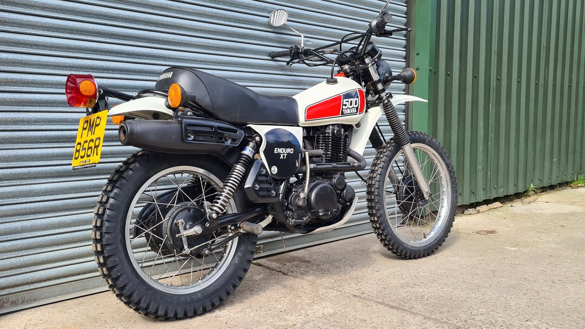 1977 Yamaha XT500 D UK Original bike.  For Sale (picture 3 of 10)