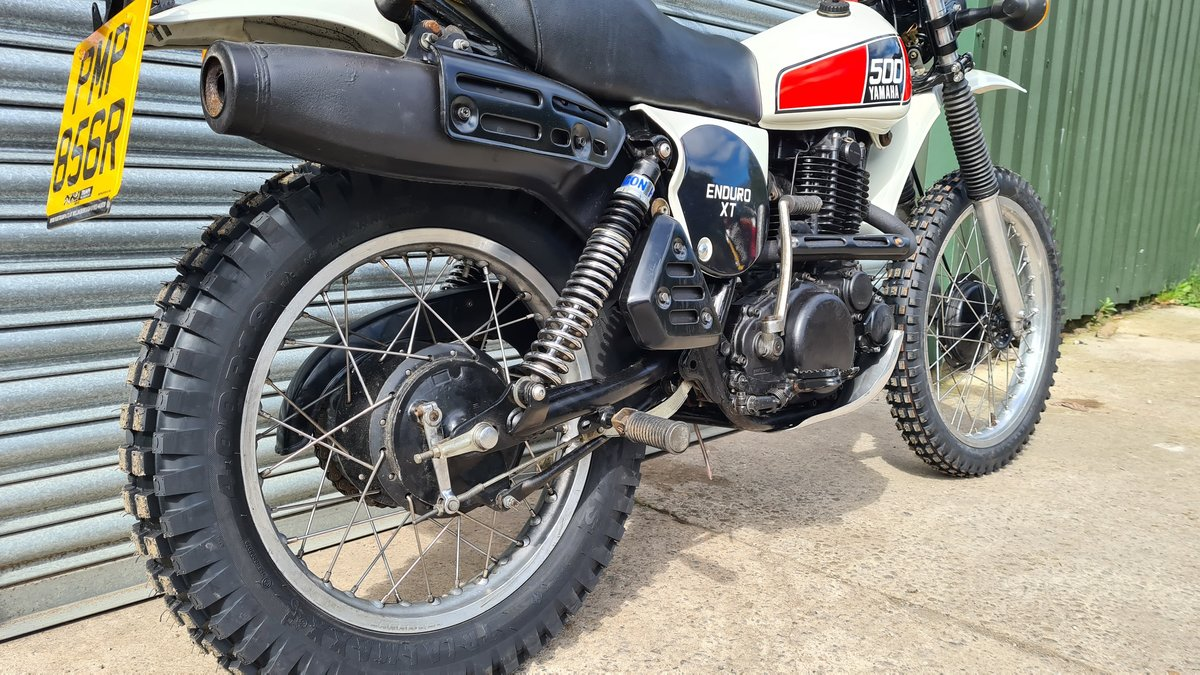 1977 Yamaha XT500 D UK Original bike.  For Sale (picture 4 of 10)