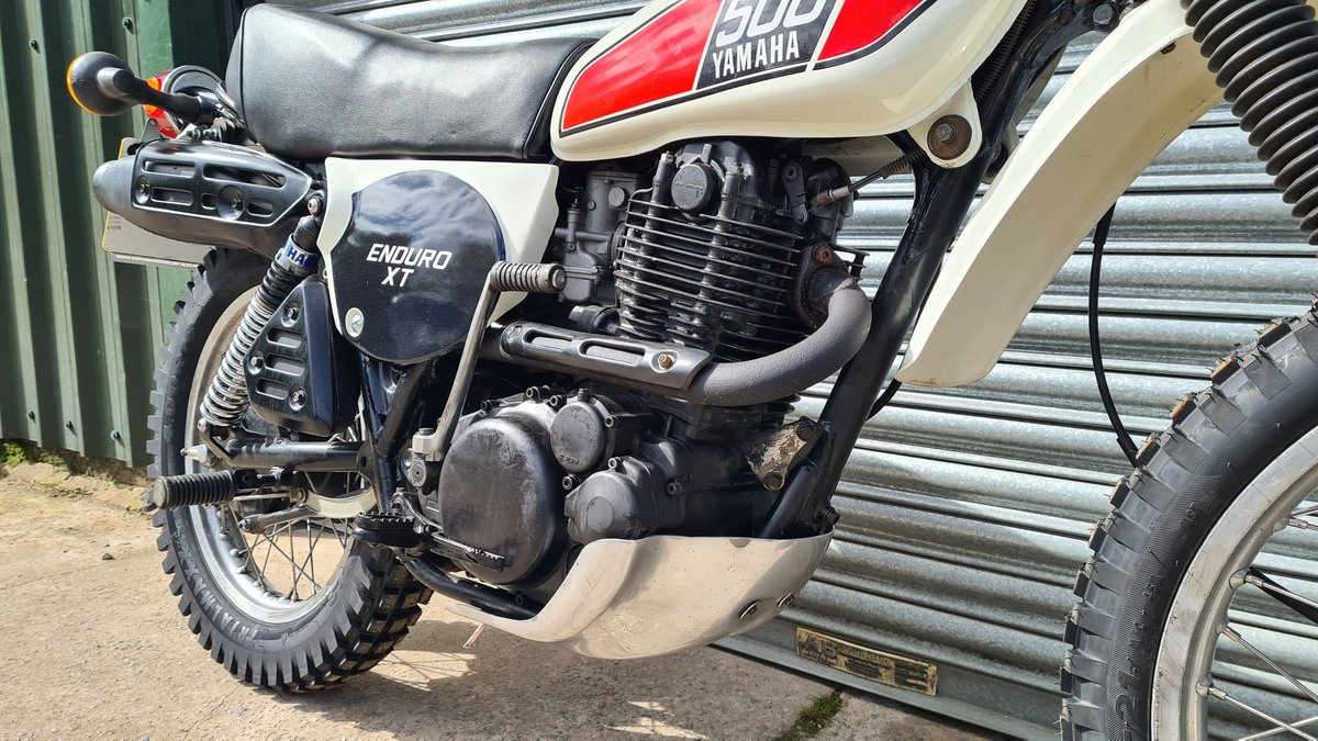 1977 Yamaha XT500 D UK Original bike.  For Sale (picture 5 of 10)