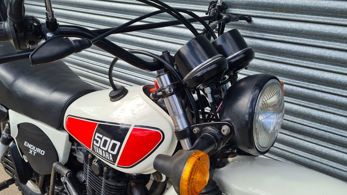 1977 Yamaha XT500 D UK Original bike.  For Sale (picture 7 of 10)