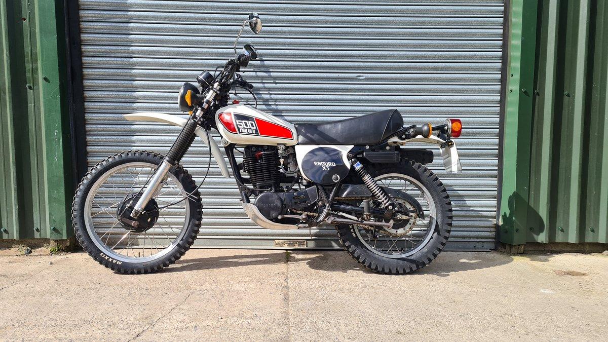 1977 Yamaha XT500 D UK Original bike.  For Sale (picture 8 of 10)