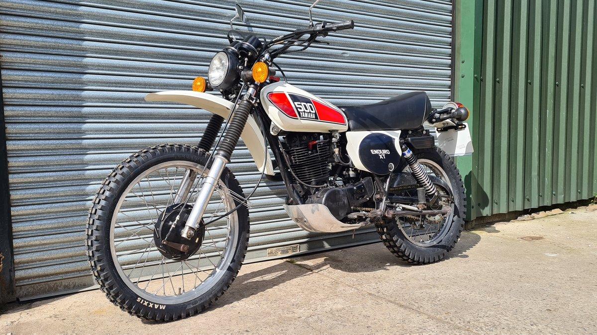 1977 Yamaha XT500 D UK Original bike.  For Sale (picture 9 of 10)