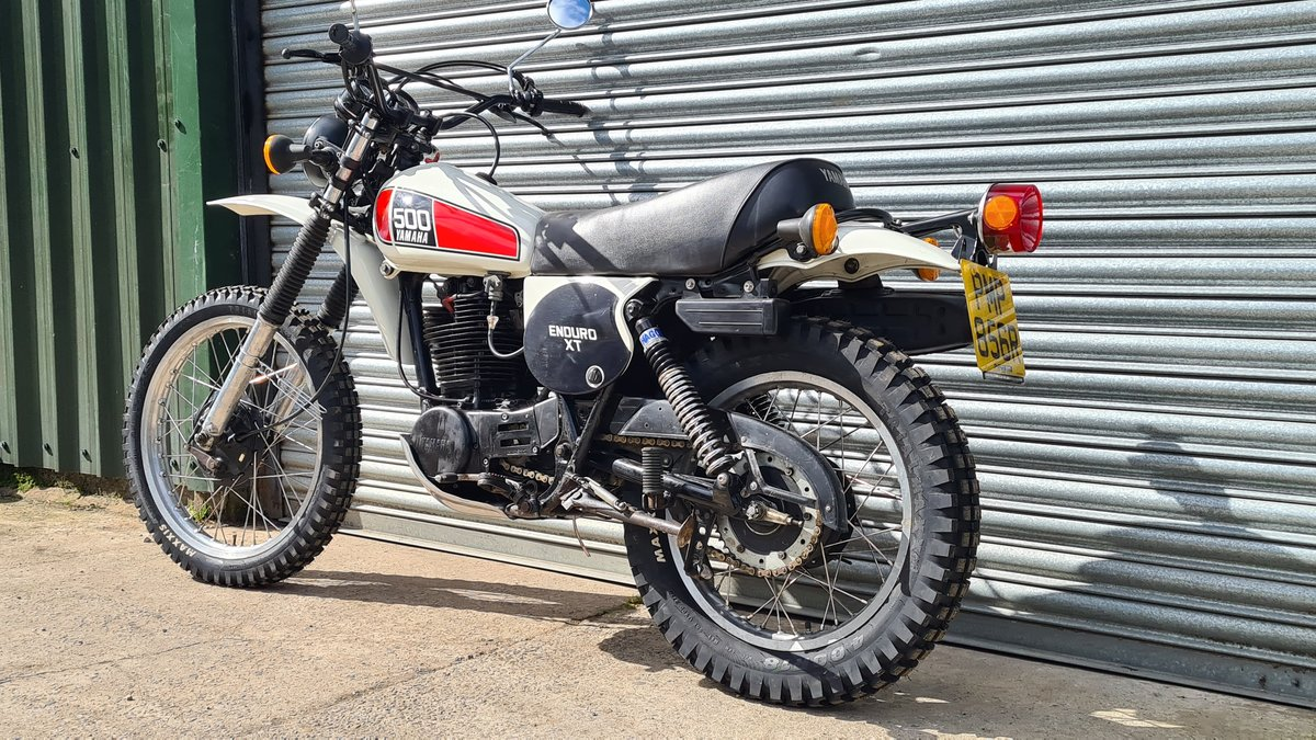 1977 Yamaha XT500 D UK Original bike.  For Sale (picture 10 of 10)