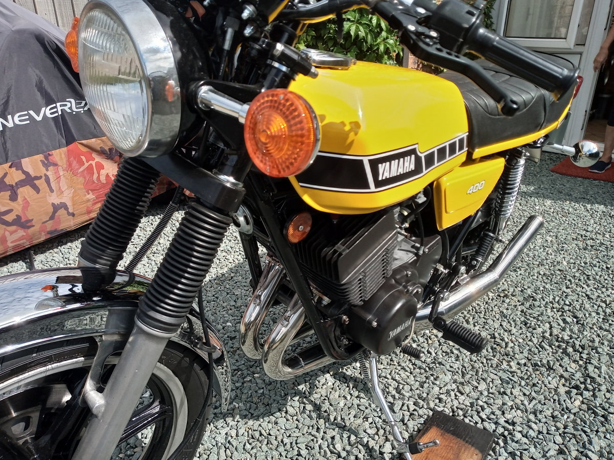 1981 YAMAHA RD 400 F For Sale (picture 1 of 6)