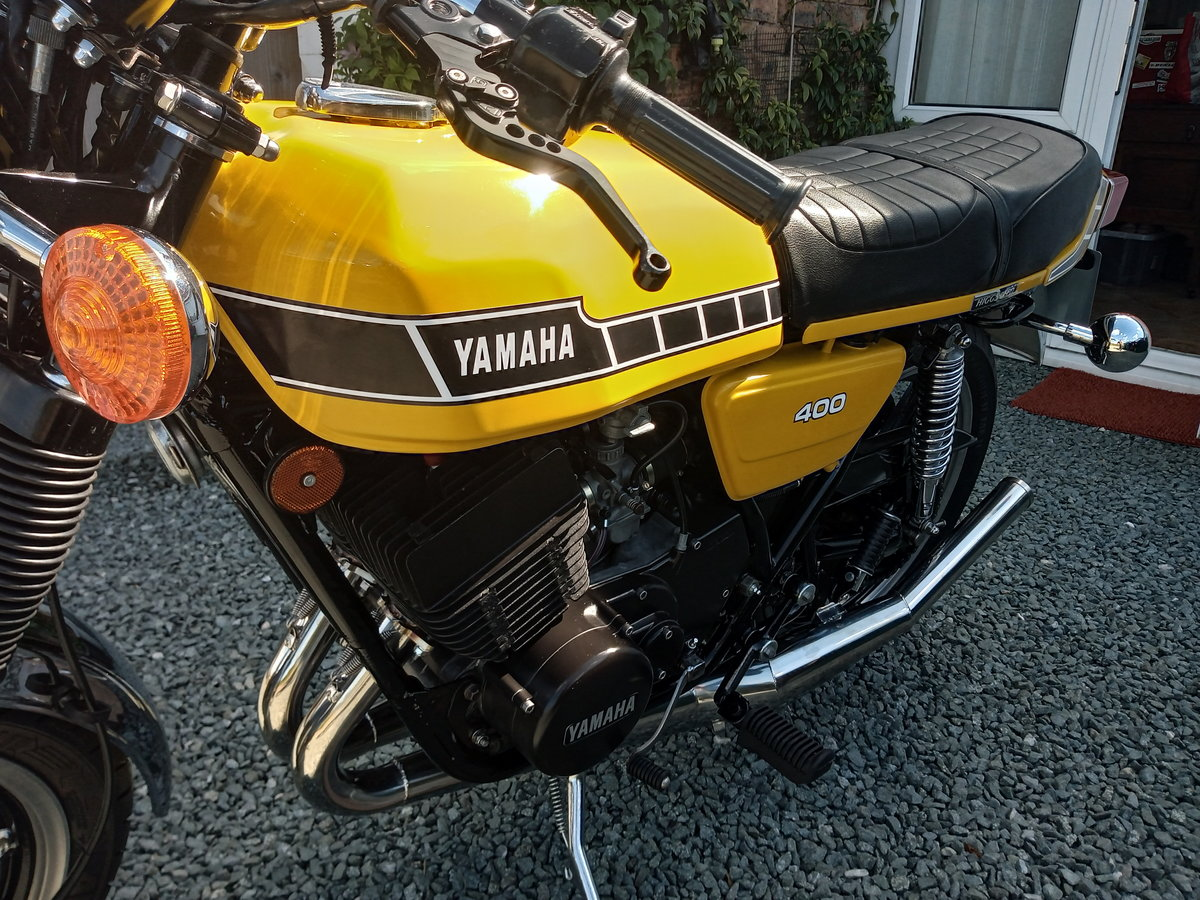1981 YAMAHA RD 400 F For Sale (picture 4 of 6)